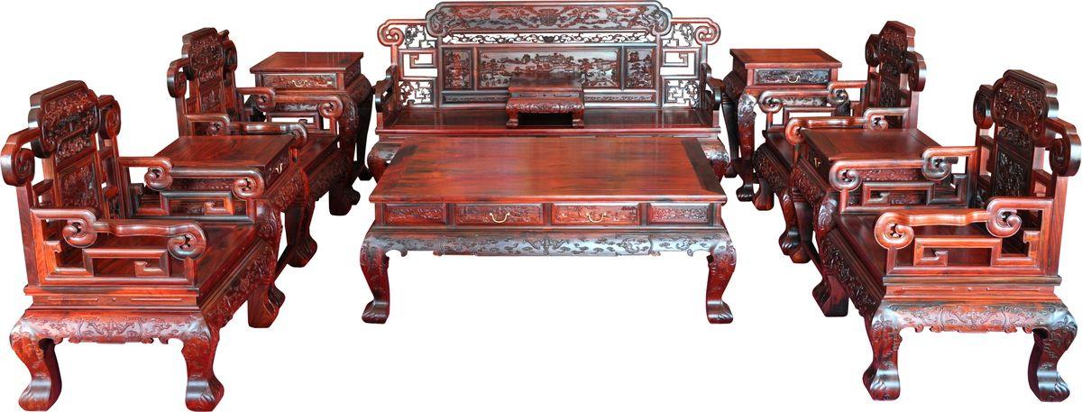中式客厅沙发图片