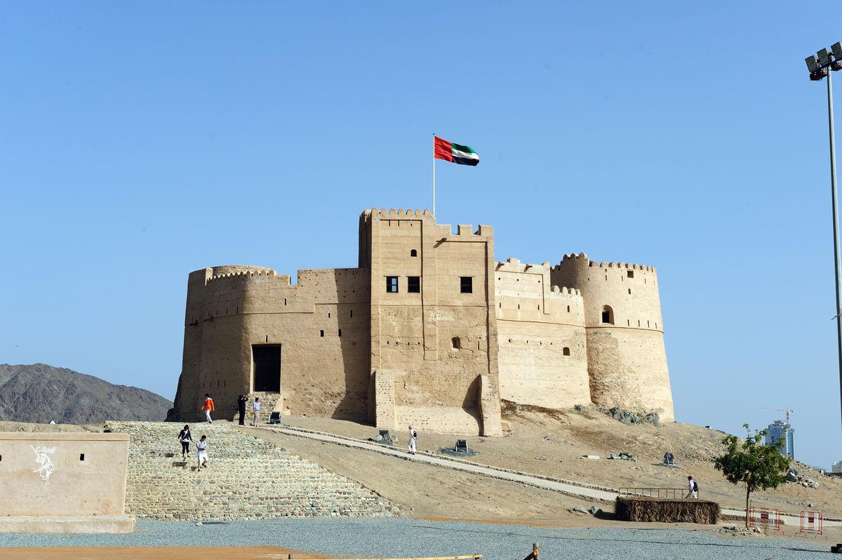 阿联酋富查伊拉古城堡图片