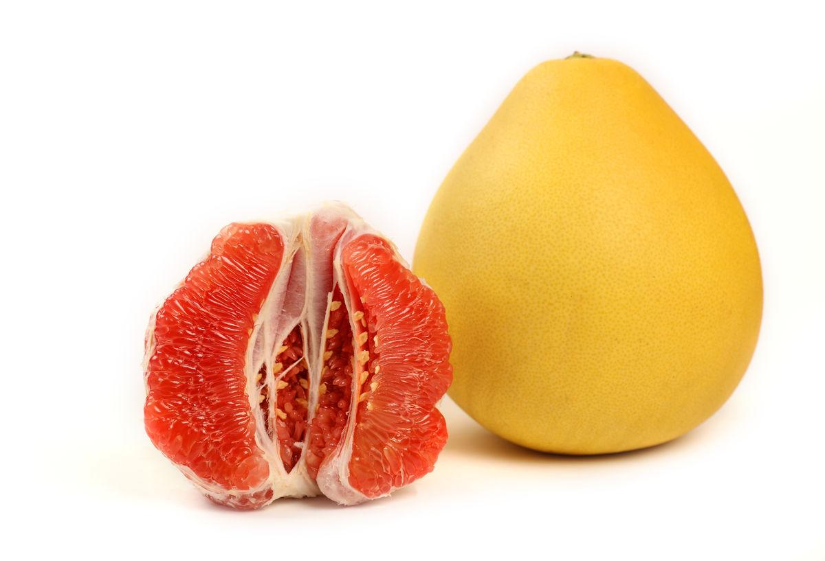 柚子 红肉蜜柚图片