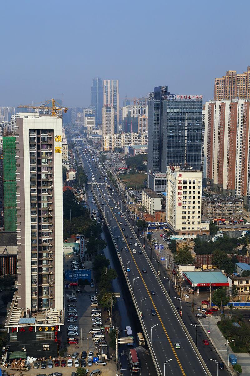 武汉楚河汉街风光图片