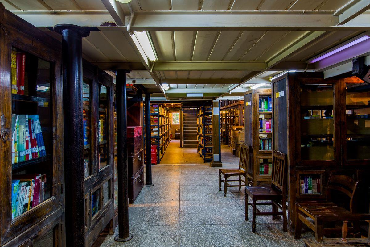 馆_高等职业学院,成都标榜,双流县,仿古建筑,仿古陈设,仿古氛围,图书馆