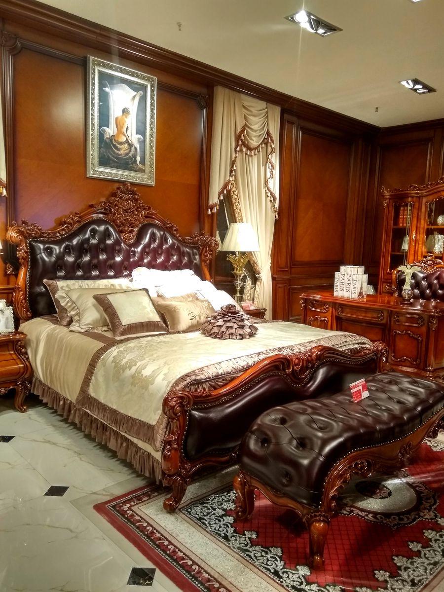 实木床,欧式床头,欧式家具,实木家具,欧式风格套房,卧室,红木床,欧式图片