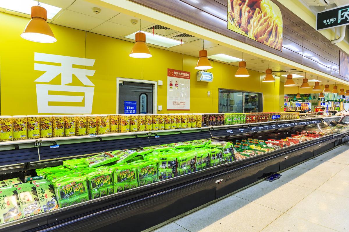 超市商品,商品陈列,超市食品,超市内景,商业场所,卖场超市,方便面图片