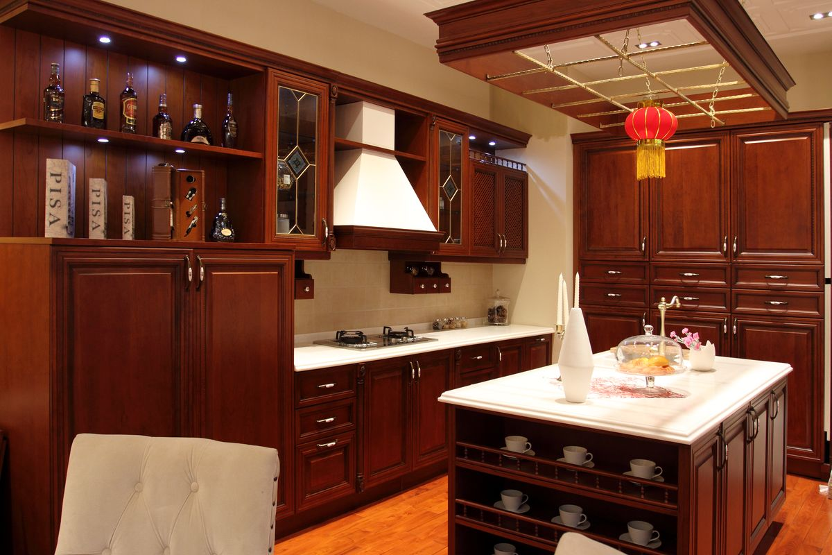 实木厨具,家居,实木家具,实木,组合橱柜,欧式橱柜,整体厨房,整体家居
