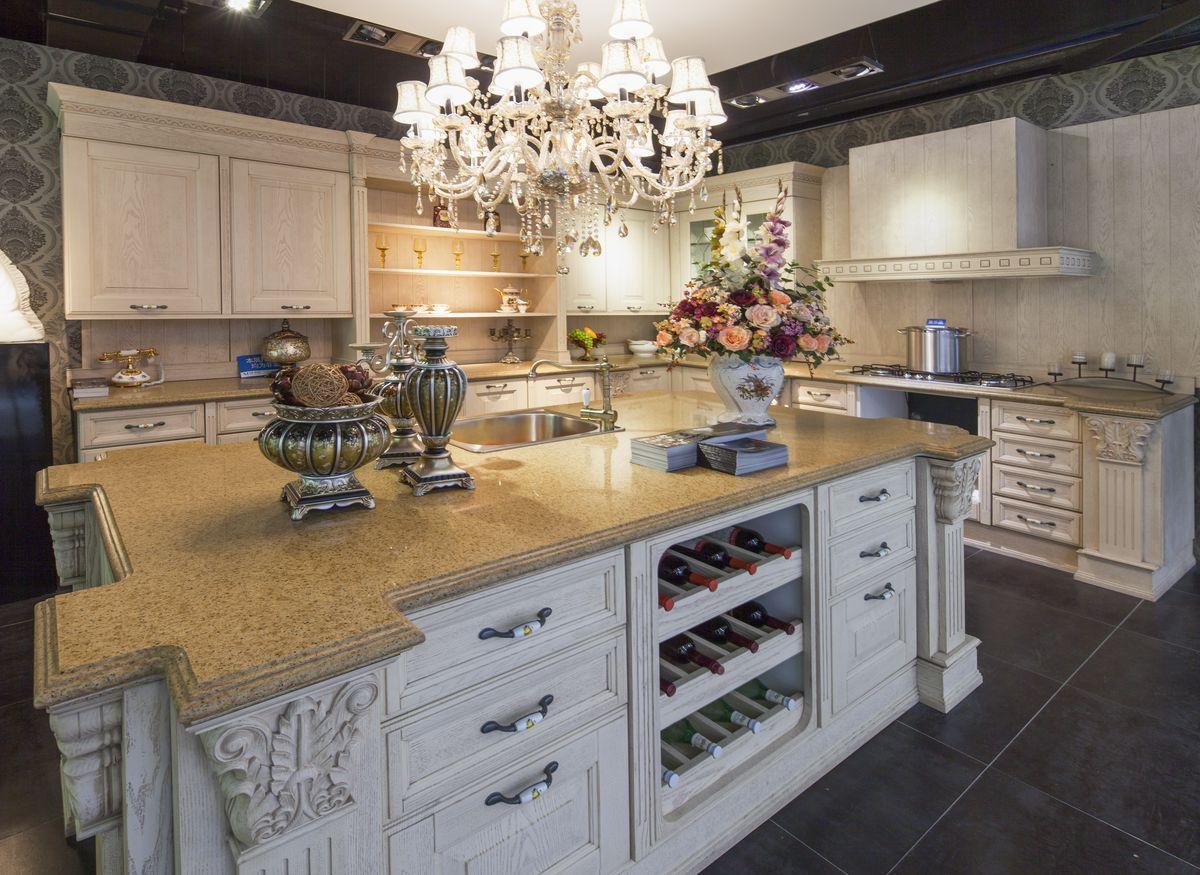 橱柜,整体厨房,整体橱柜,实木橱柜,组合橱柜,原木橱柜,整体家居,欧式图片