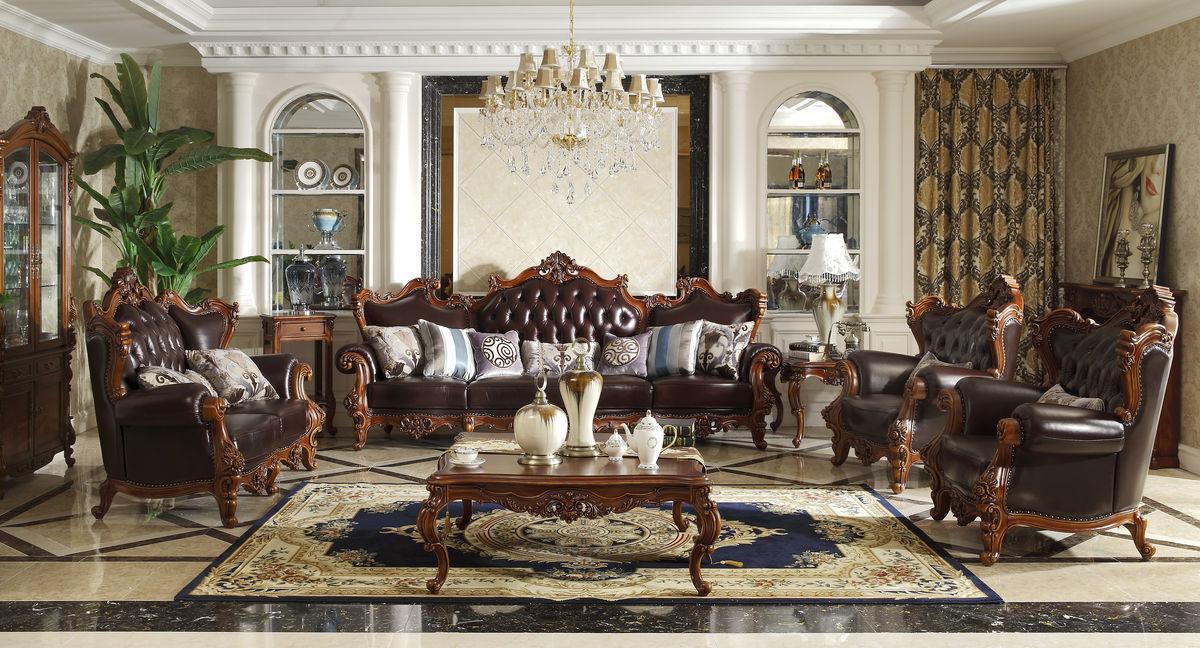 美式沙发全套 实木沙发图片