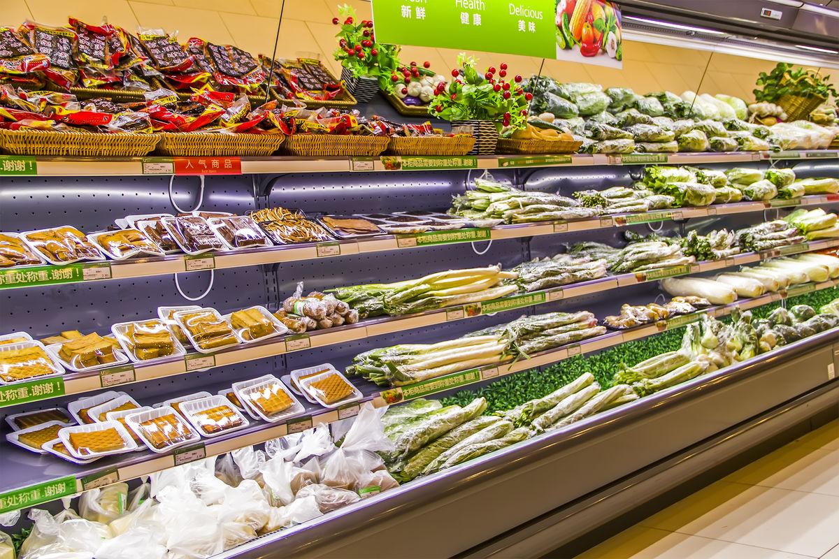 装饰,装修,卖场,超市,绿色食品,商品陈列区,超市商品陈列,便利店,蔬菜图片