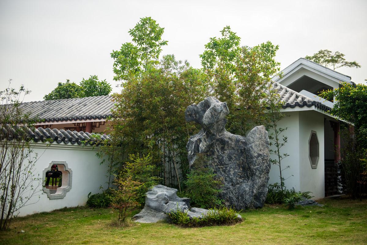 中式庭院,庭院设计,庭院景观,中式园林,景观园林,园林石山,岭南园林图片