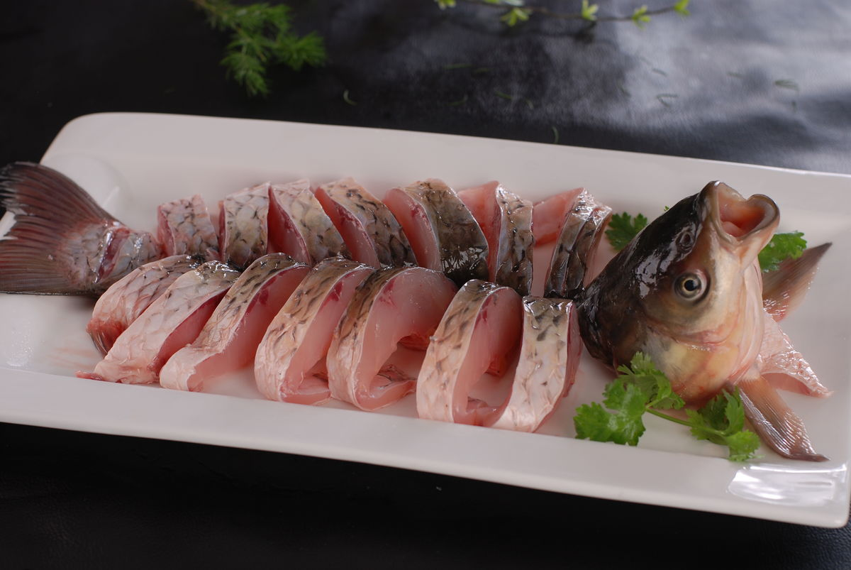 鱼片,草鱼片,鲩鱼片,火锅鱼片,涮鱼片图片
