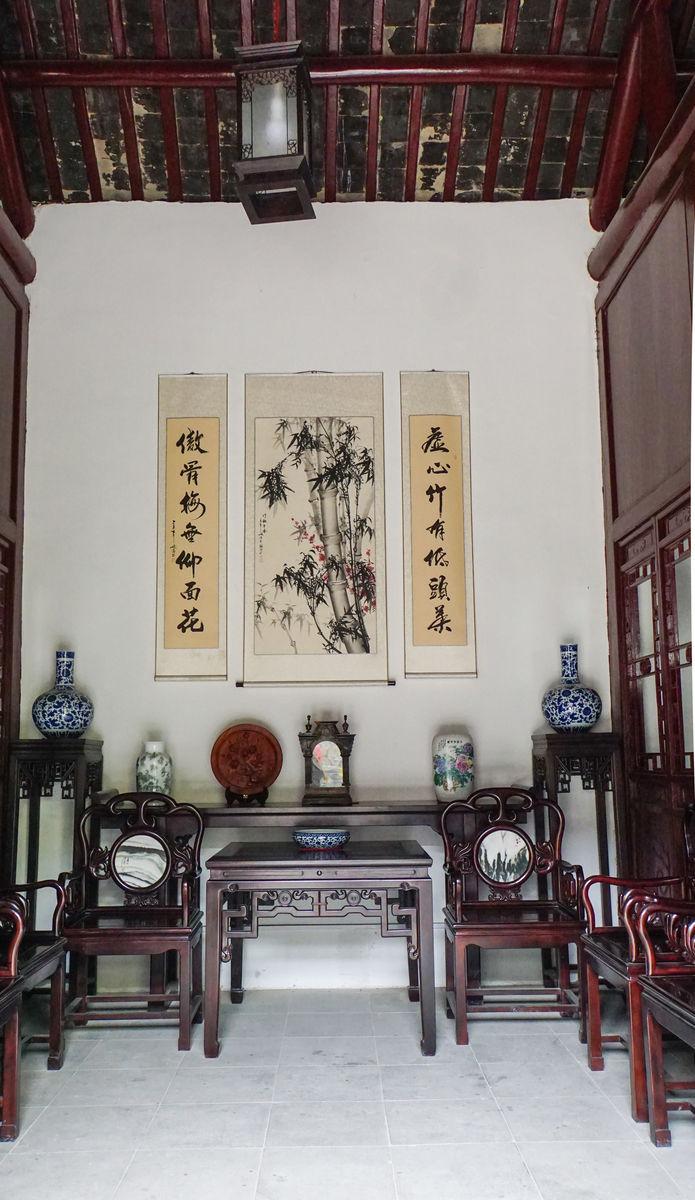 古建筑中堂 传统中式客厅陈列图片