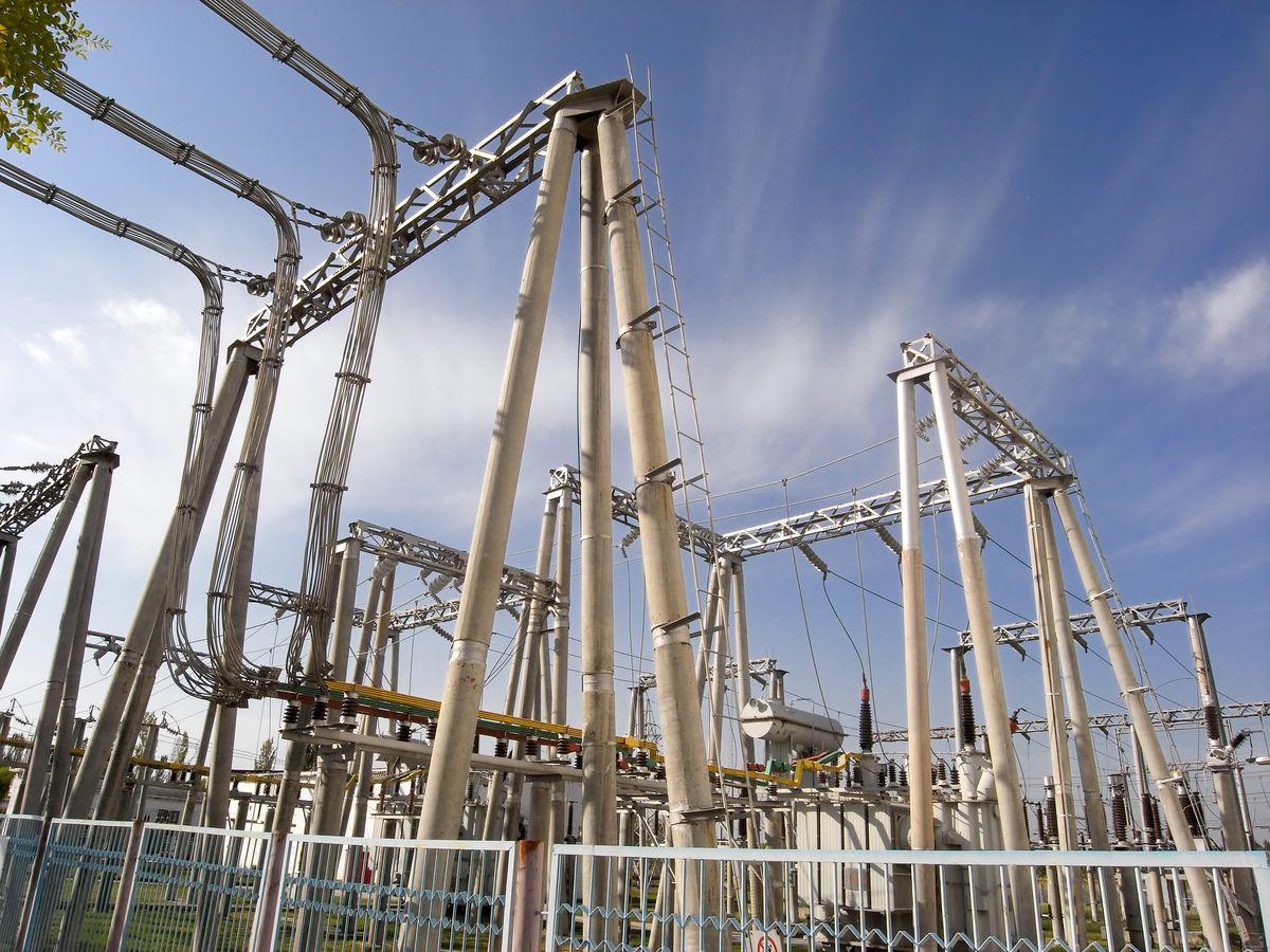 变电所,变电站,电力,供电,电厂,电网,工业,能源,电杆,输电图片