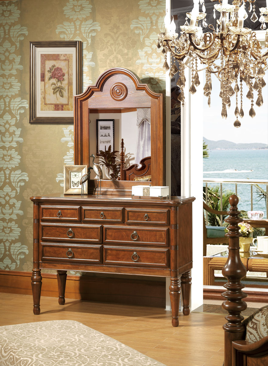 梳妆台 美式家具图片
