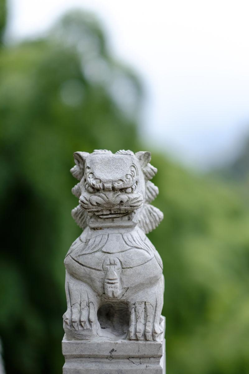 雕刻,石狮,石雕,石兽,石狮子,石雕艺术,古建筑,雕塑石刻,传统文化图片