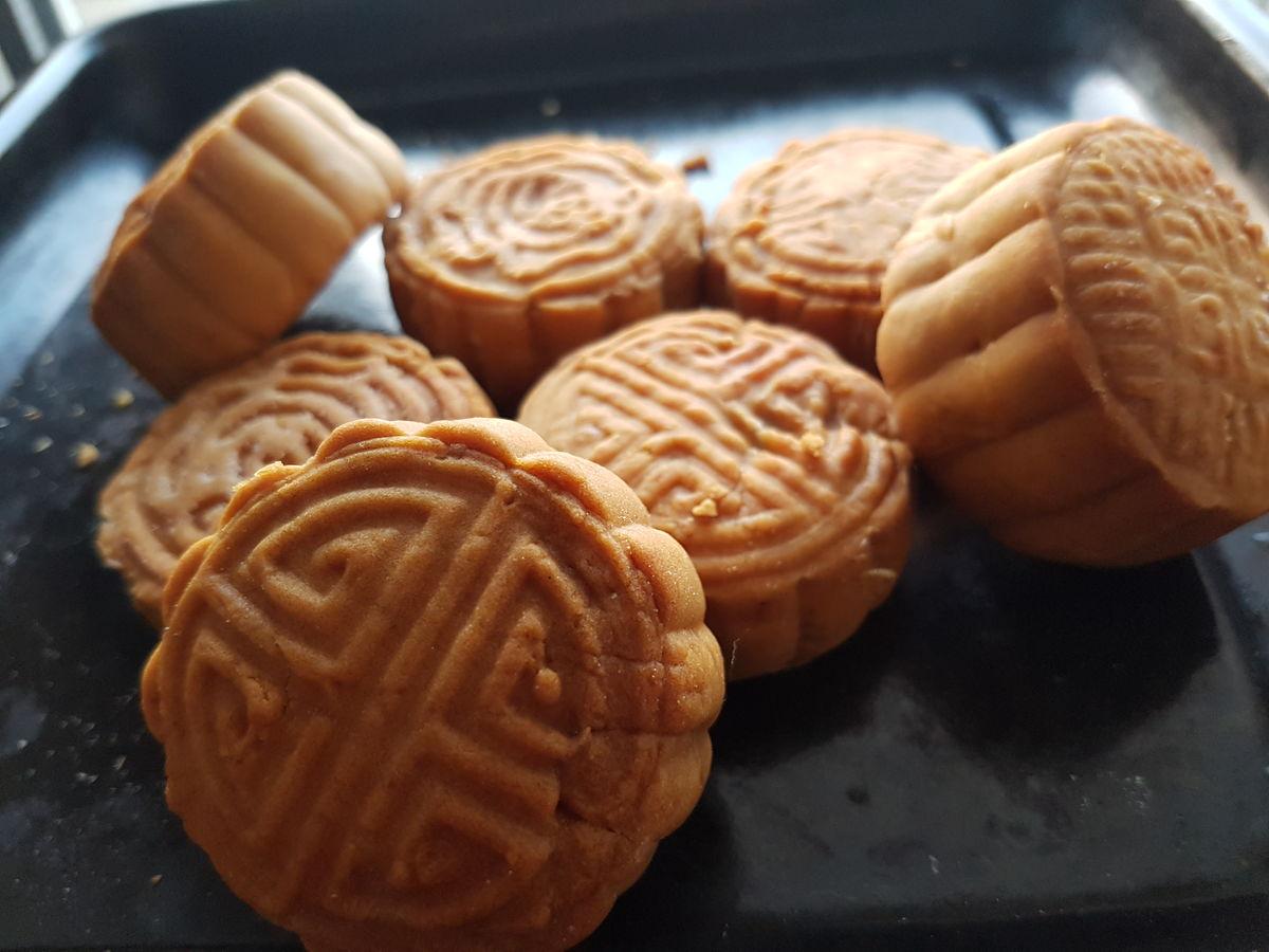 广式月饼 手工制作图片