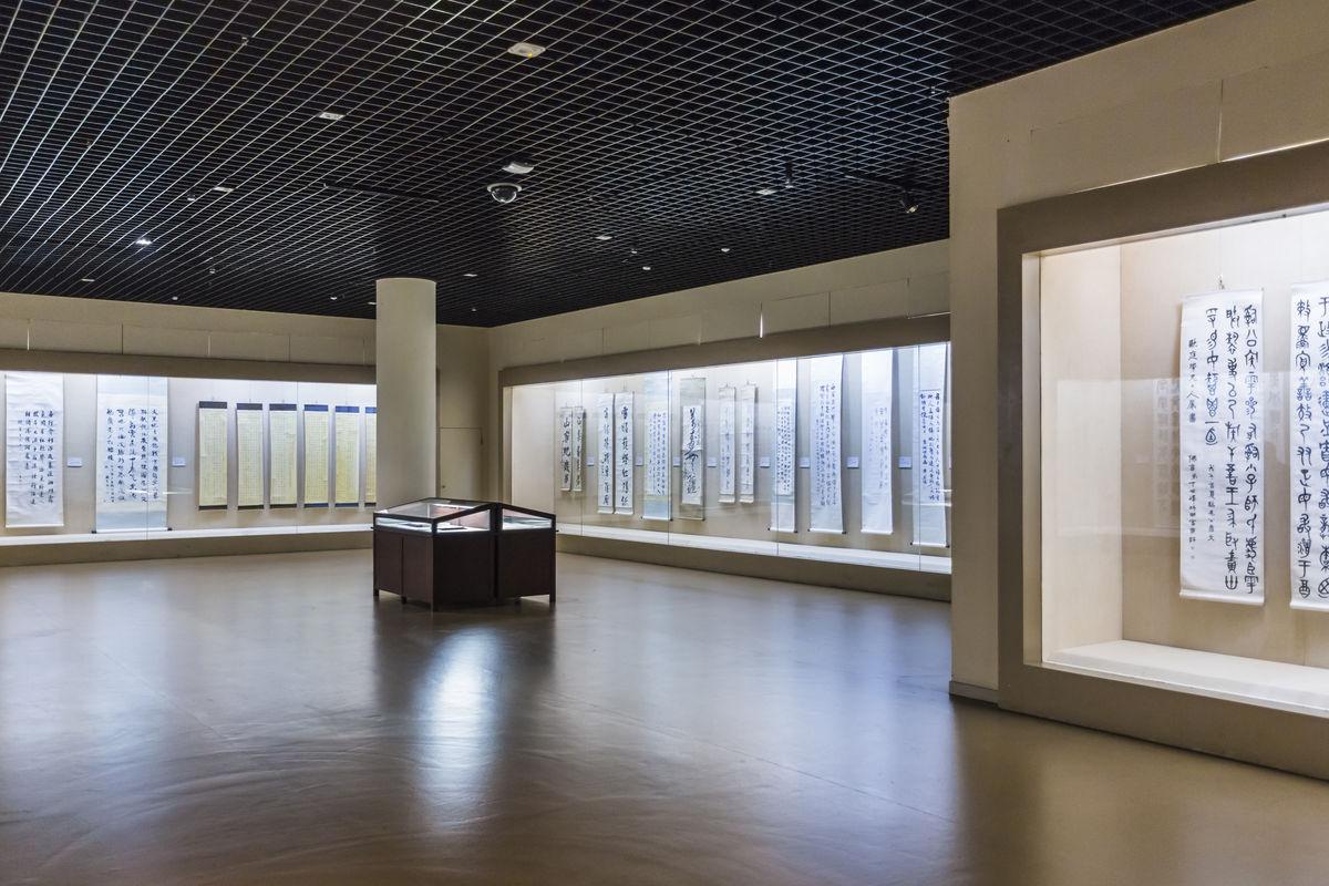 博物馆,书画展厅,博物馆展厅,展览馆,书画馆,中国文化,展厅,工装设计图片