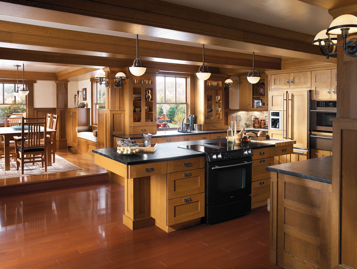 美式橱柜,橱柜效果图,实木橱柜,吧台,原木橱柜图片