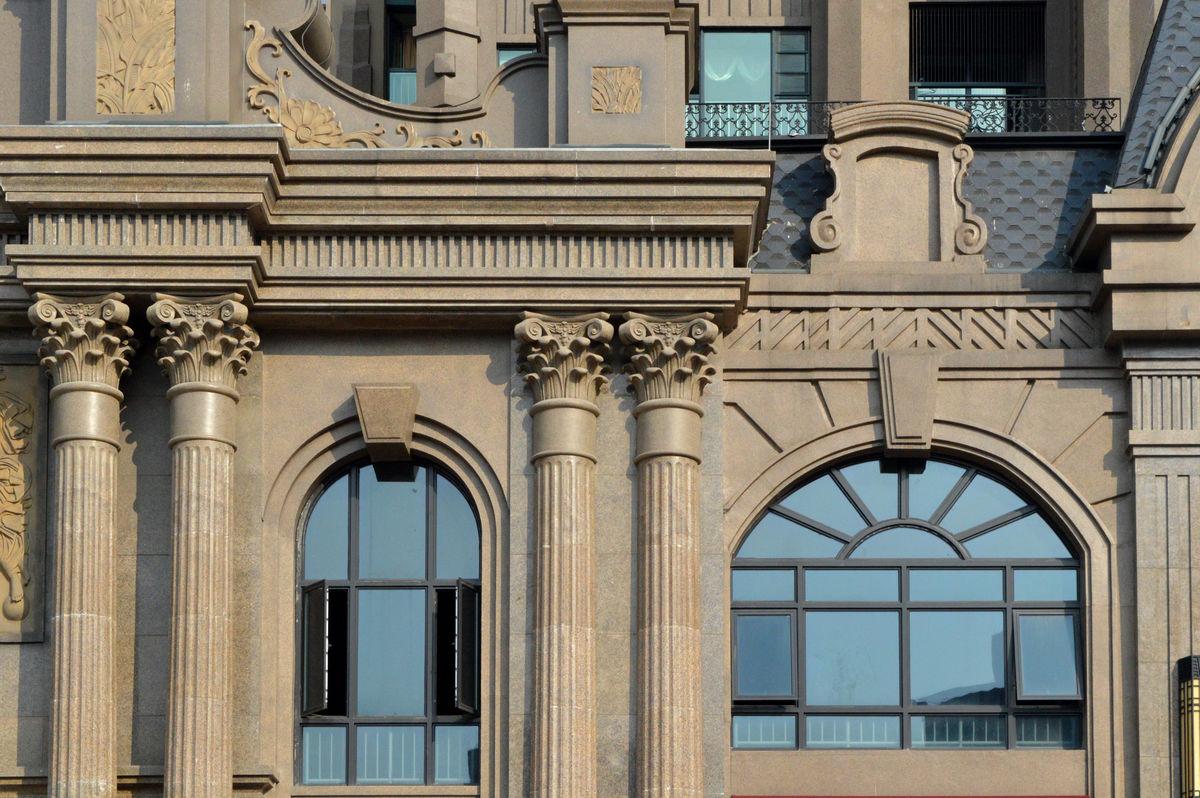 欧式,西式窗户,西式门窗,窗子,拱形窗,拱形门窗,窗台,窗檐,欧式建筑图片