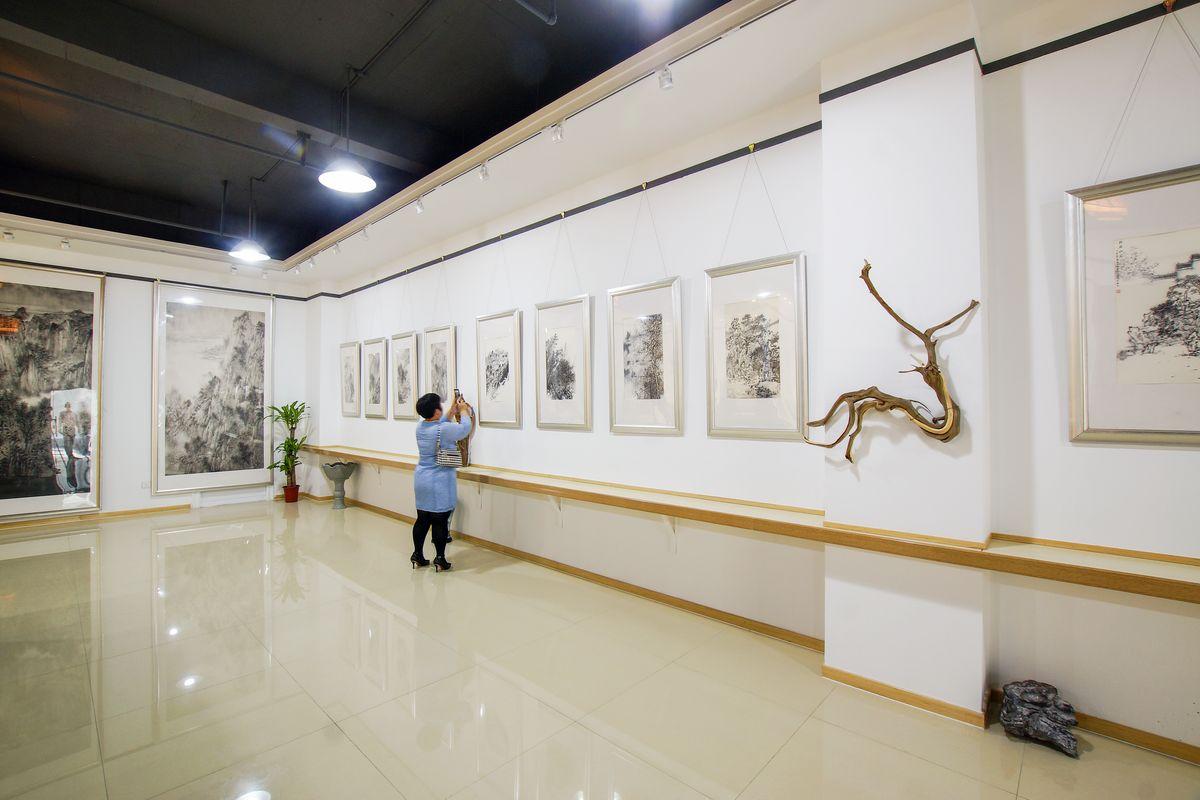 画展,展馆,书画展,艺术展,展览馆,展示厅,展厅布置,展厅设计,空间设计图片