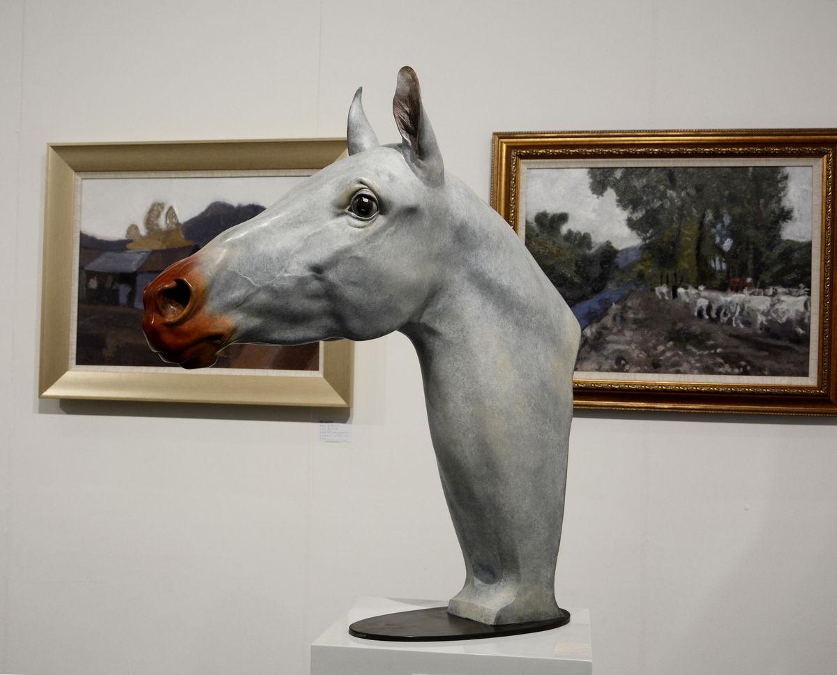 马头,马,骏马,艺术,马雕塑,雕塑艺术,马头雕塑,马年,雕像,欧式饰品图片