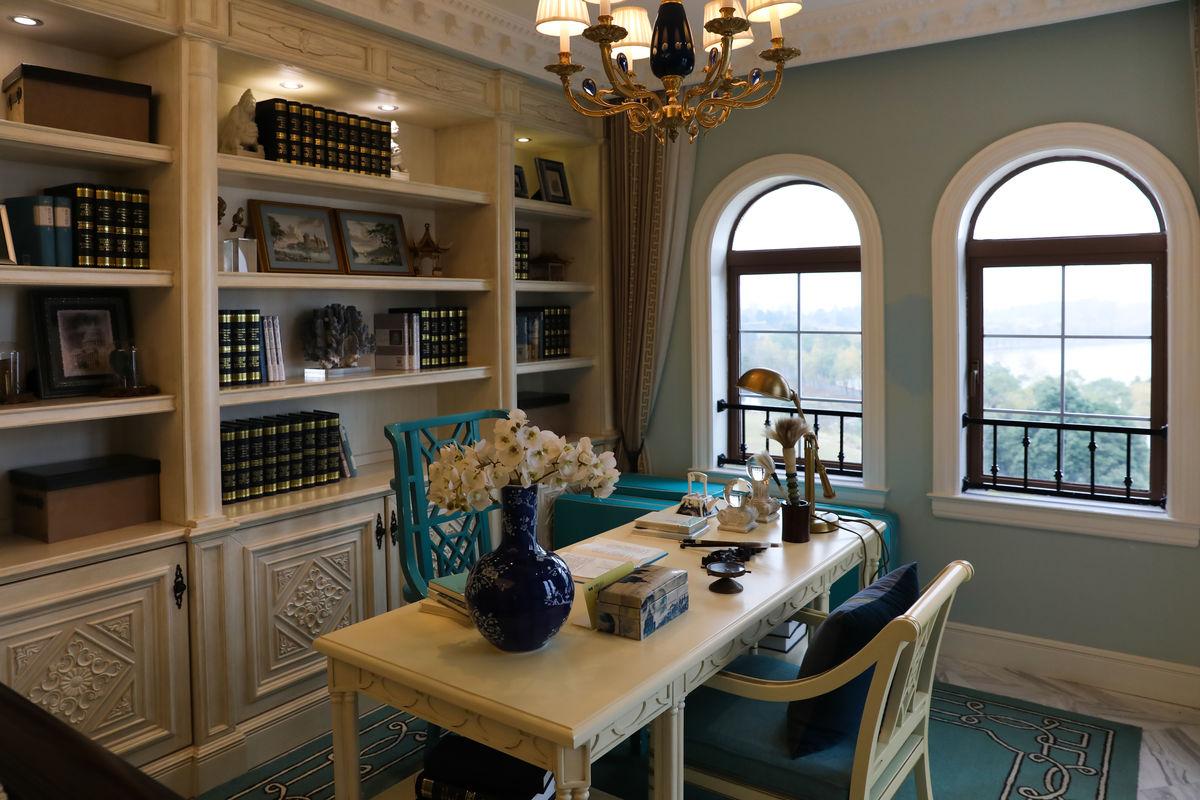 样板间,样板房,卧室,精装修,室内装饰,装修,房间布置,门隔断,书房图片
