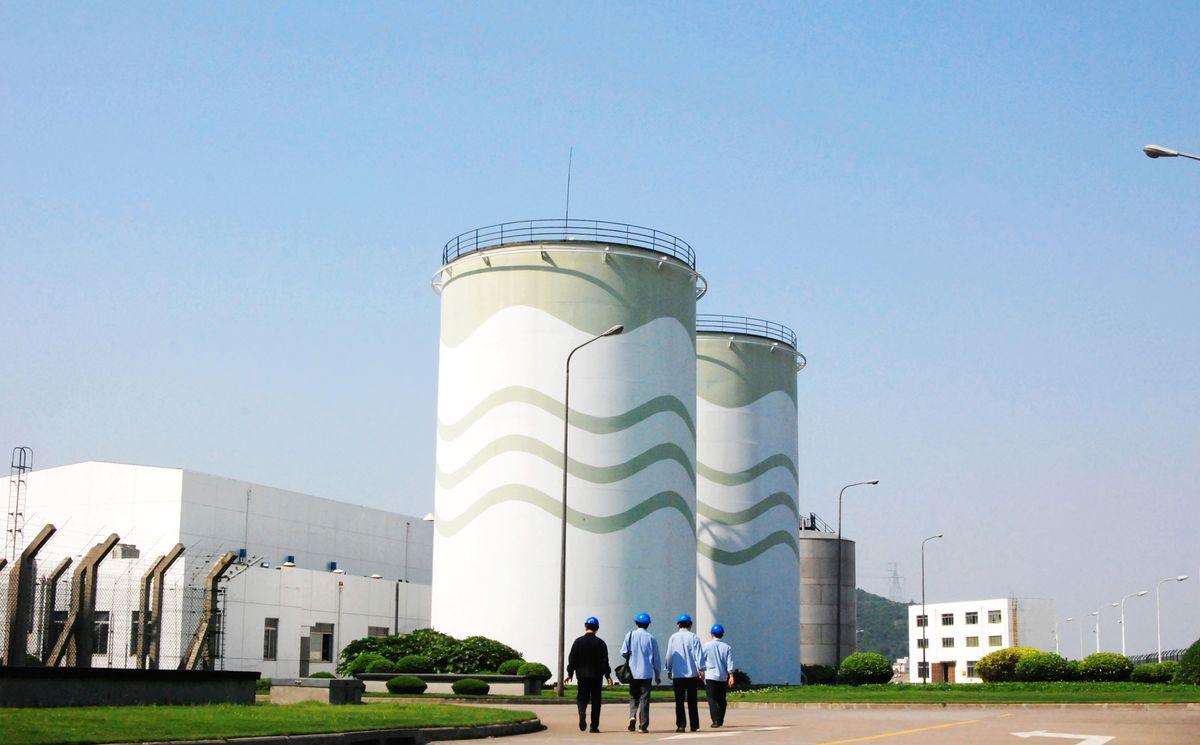 能源,电力,电厂,核电厂,发电厂,发电站,核电站,储存罐,罐体,工业建筑图片