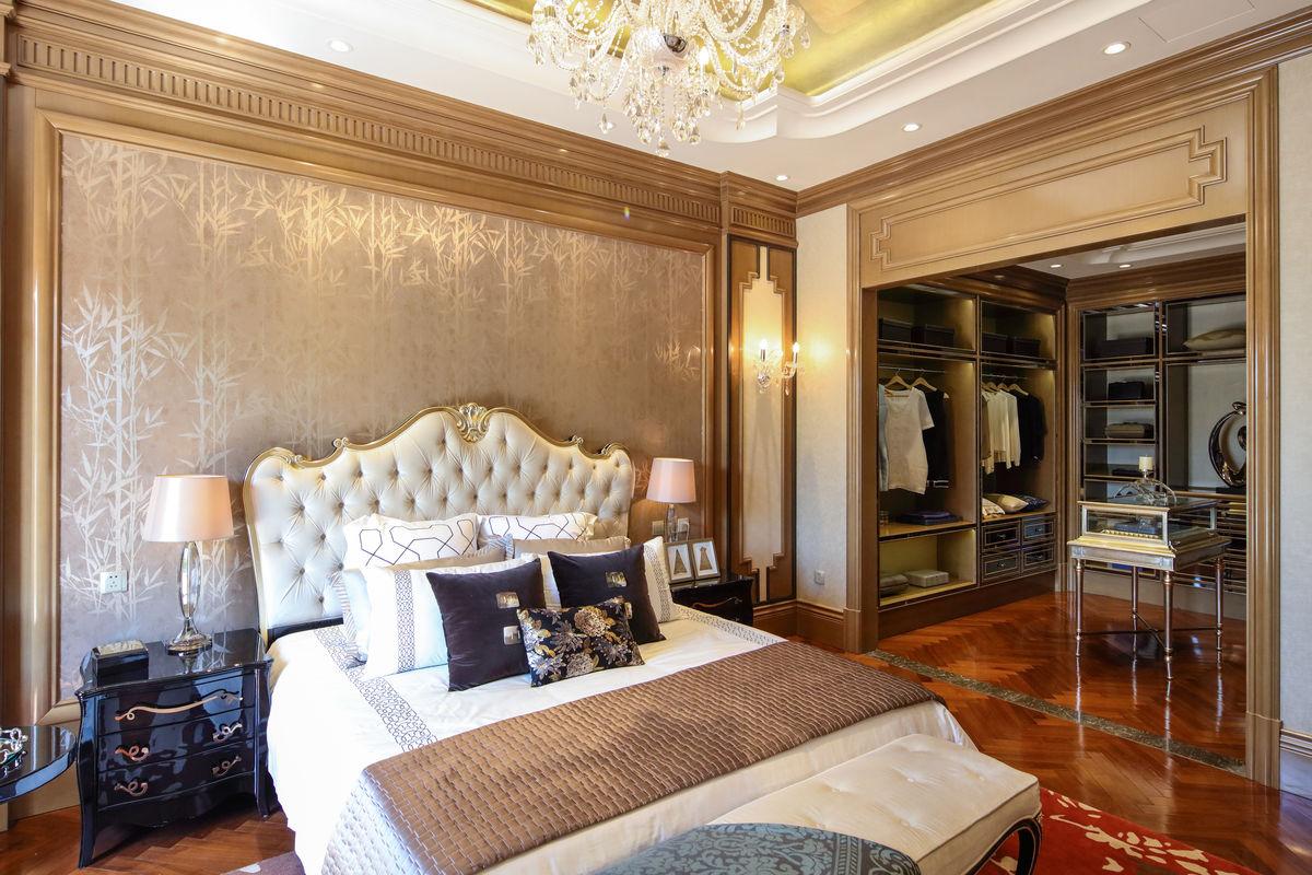 欧式卧房 别墅装饰 卧室装饰图片