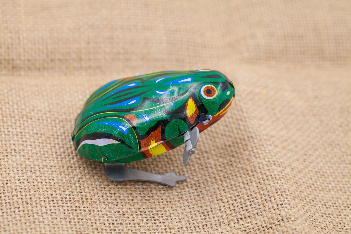 田鸡玩具发条青蛙