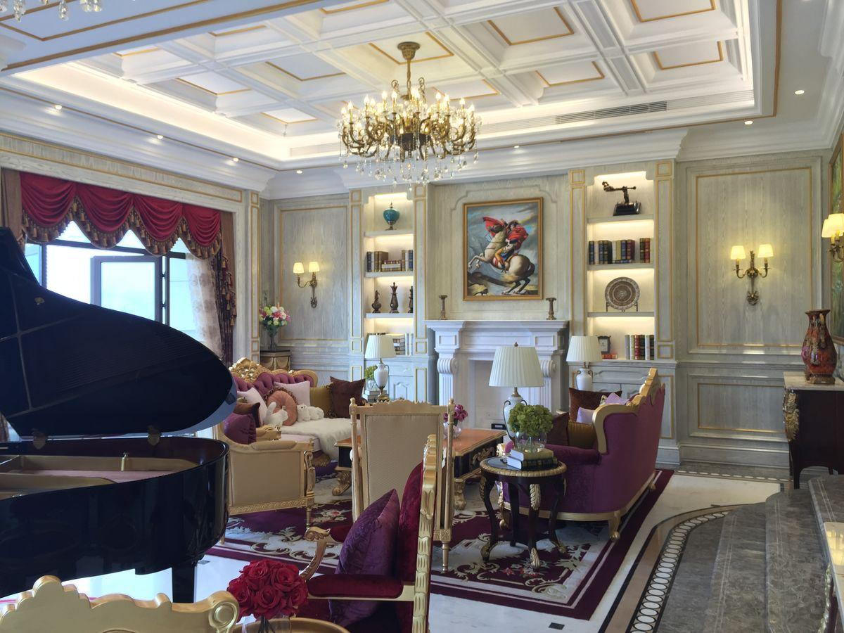 整木家居,整木家装,原木定制,法式客厅,欧式客厅,美式客厅,整木吊顶图片