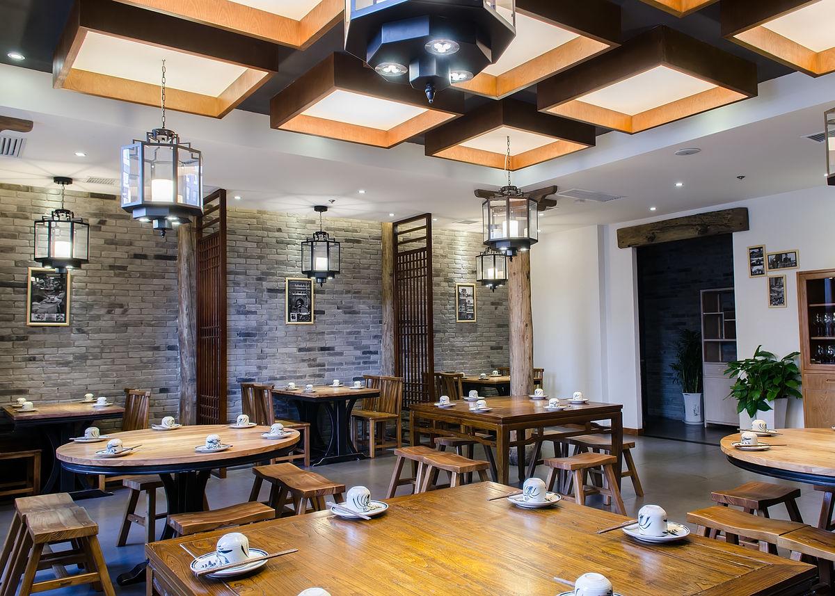 餐厅,餐饮,酒店,餐桌,中国式餐厅,古家具,木质桌椅,饭馆,仿古餐厅图片