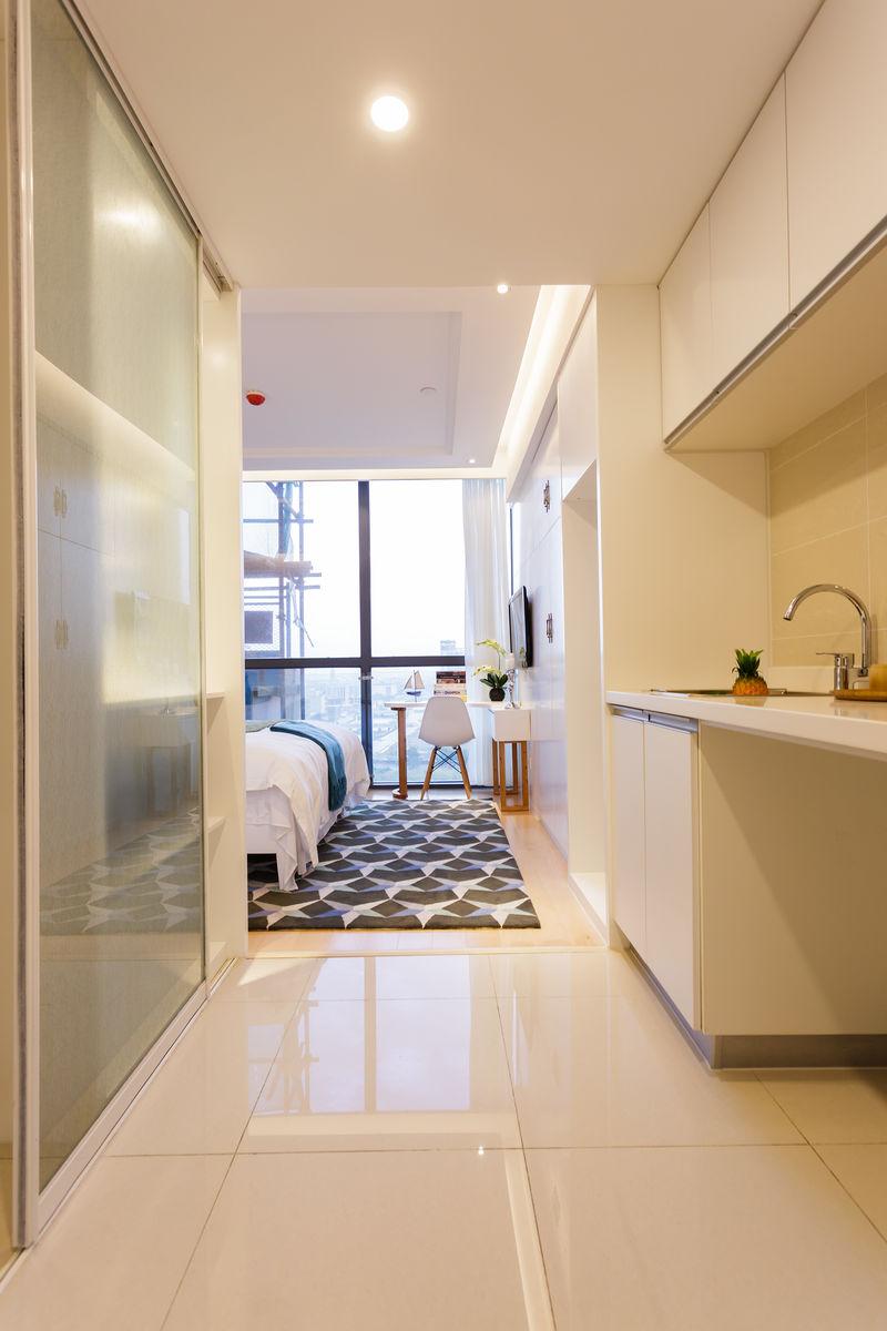 酒店式公寓住宅装修设计样板间图片
