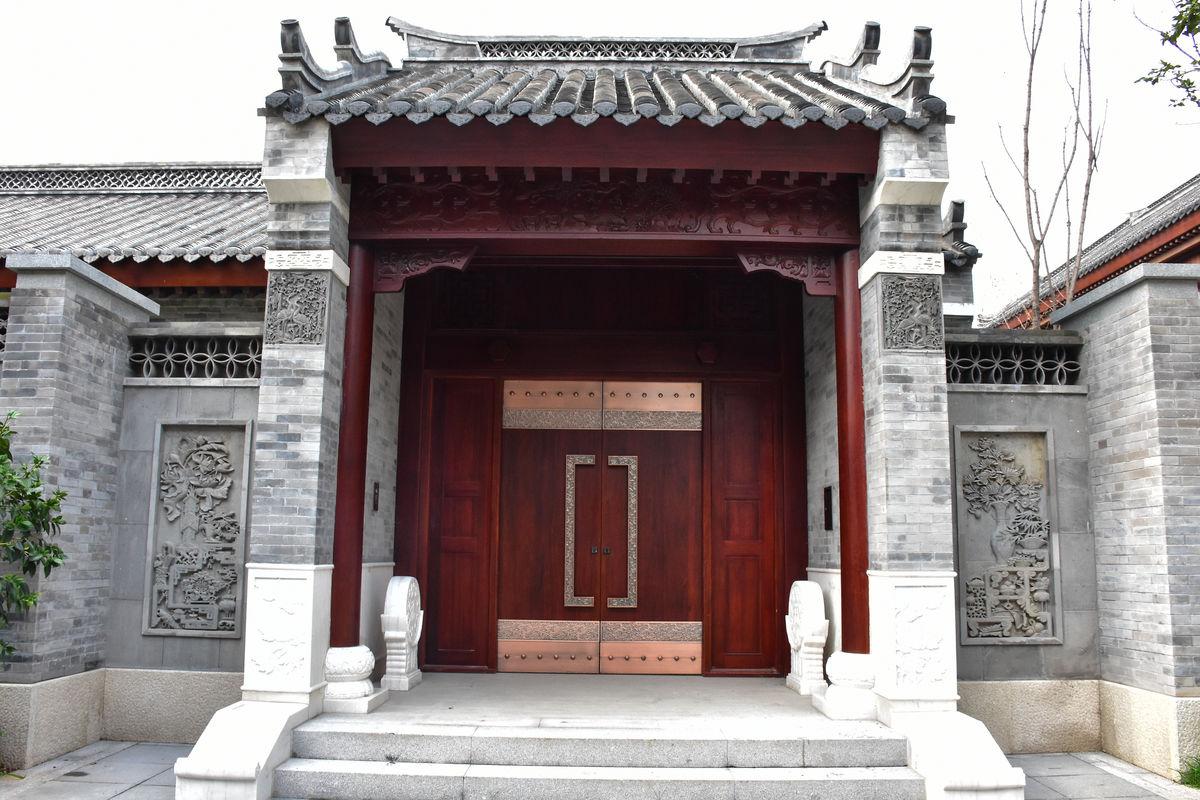 装饰,豪宅,中国风,别墅提案,地产海报,山湖别墅,新中式风格,房地产图片