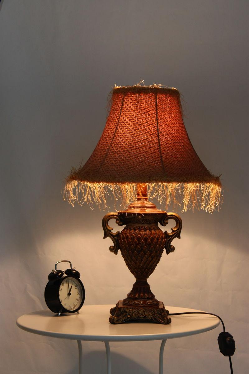 欧式风格艺术台灯图片