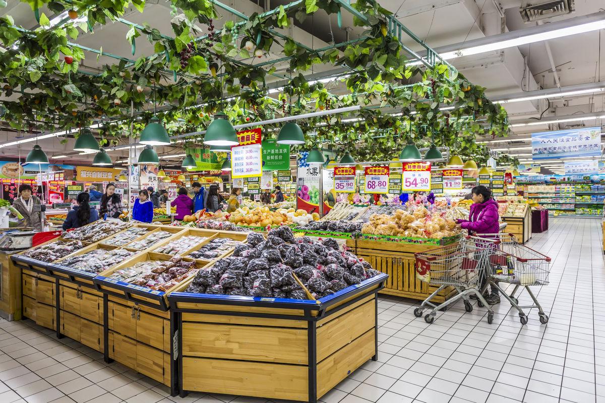 超市,超市内景,大型超市,卖场装饰,商品陈列,超市货架,食品超市,蔬菜图片