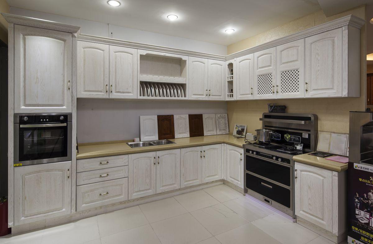 欧式风格橱柜,定制整体厨房,现代风格橱柜,整体实木原木厨房图片