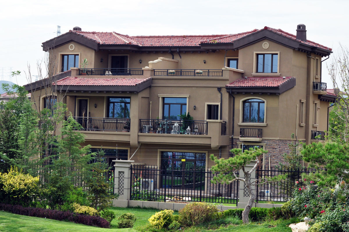 洋房,别墅设计,建筑设计,名人别墅,私家别墅,徽式建筑,中国元素,房产图片