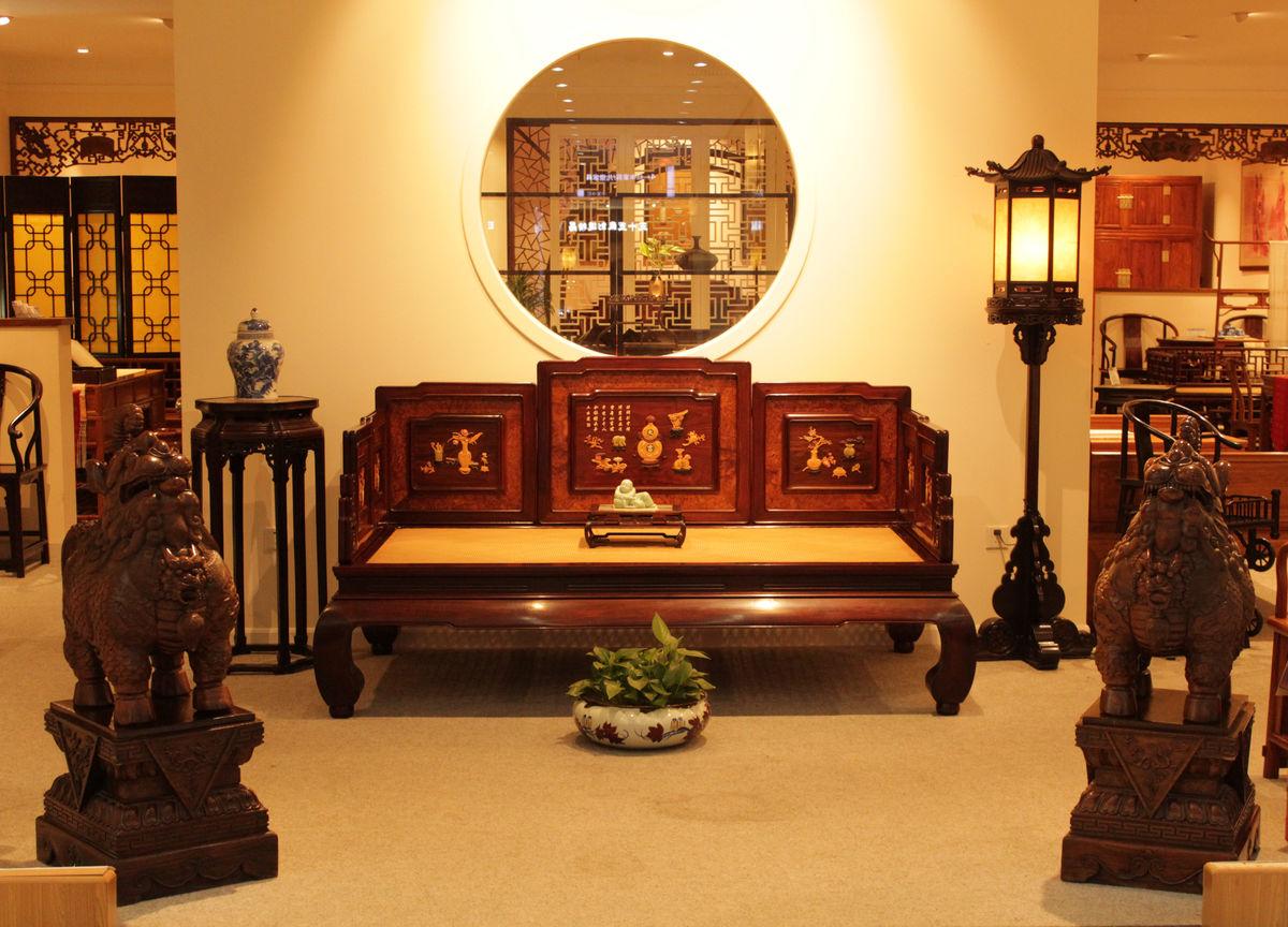 中式古典家具家居图片