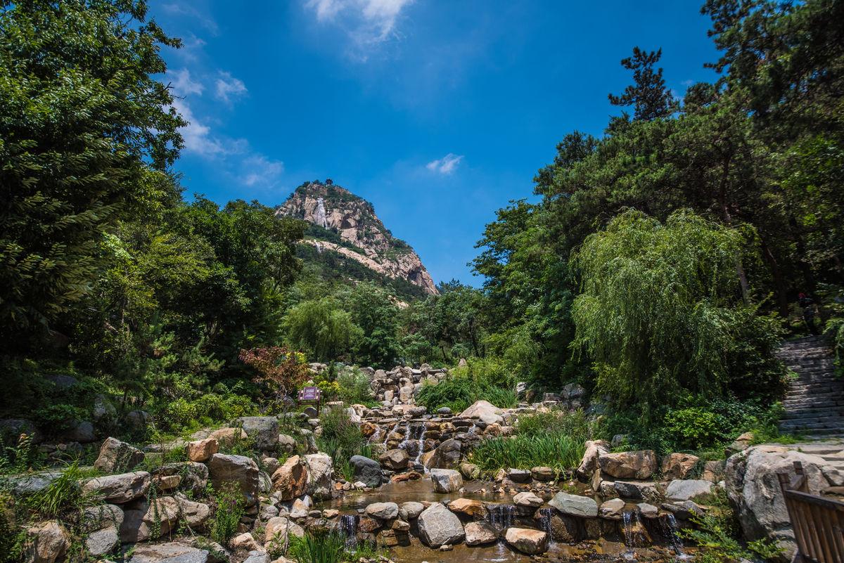 天蒙山图片