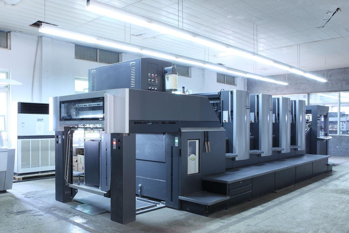 印刷机_海德堡印刷机