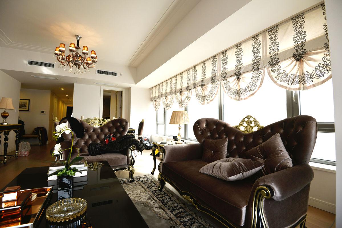 家庭装修样板间客厅图片