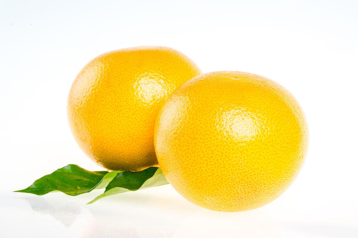 红心西柚 柚子葡萄柚 金柚子图片