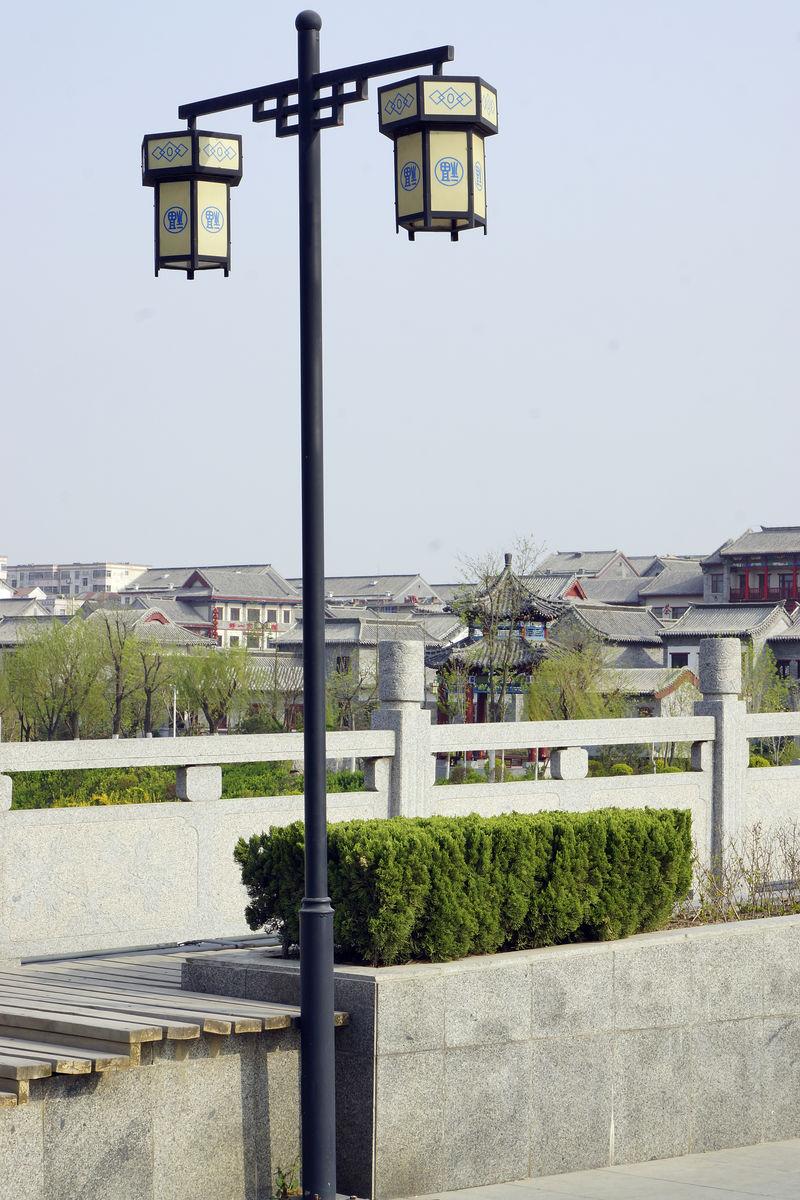 路灯,中式路灯,仿古灯,景观灯,照明灯,园林路灯,桥上路灯图片