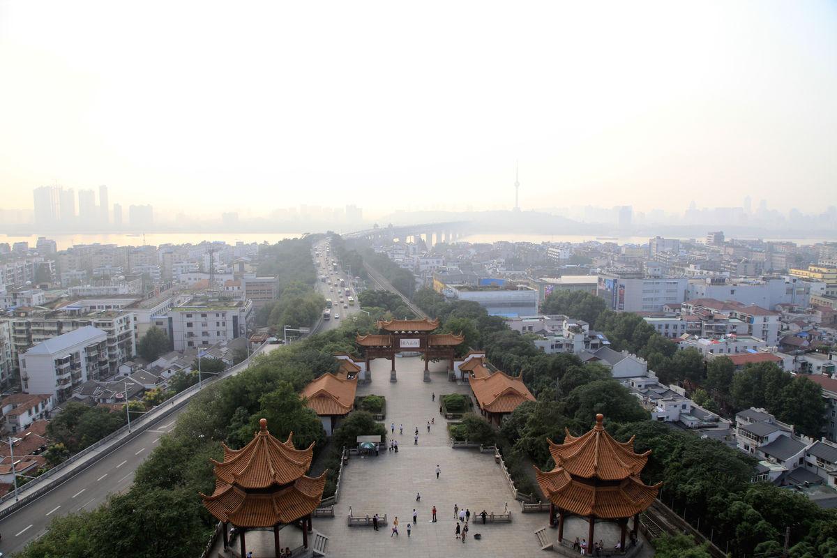 武汉全景图片