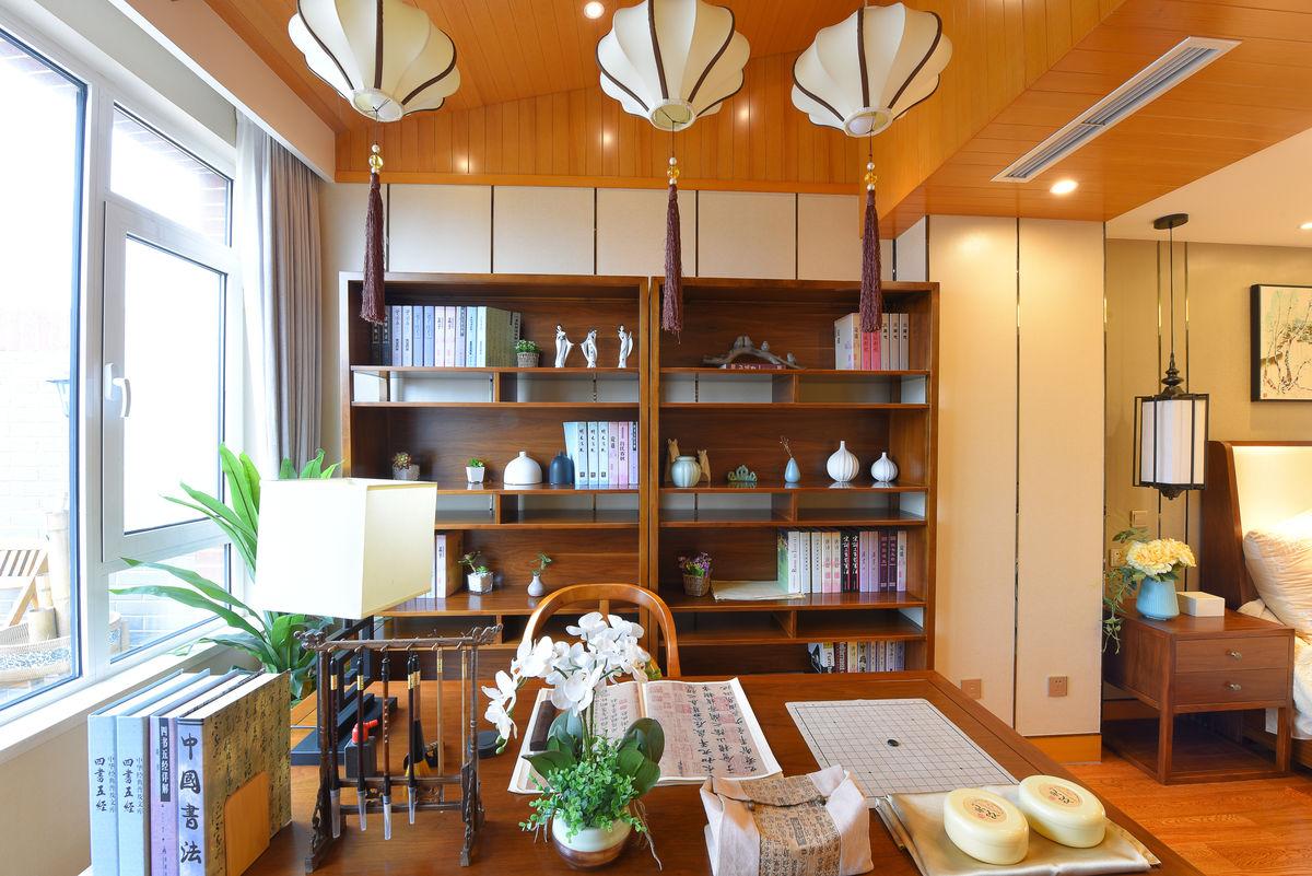 新中式 书房图片