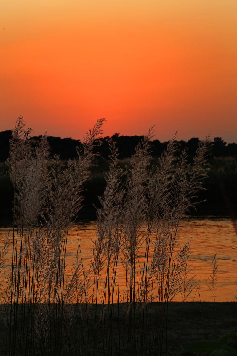 拉伯馆_拉伯的河的黄昏