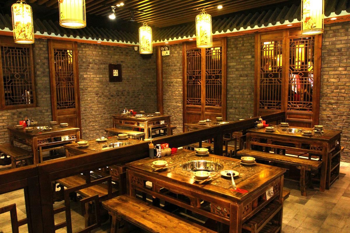 餐桌餐椅,装修装潢,时尚餐厅,餐厅设计,餐厅装修,四川火锅,饭店装修图片