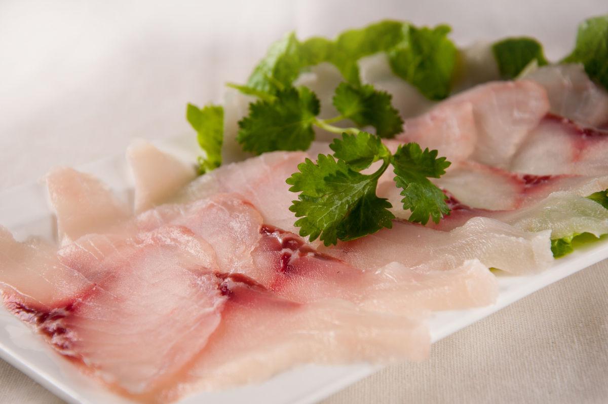 鱼片,黑鱼片,青鱼片,生鱼片,刺身,火锅烫菜,水产,鱼肉,薄切,鲜鱼片图片