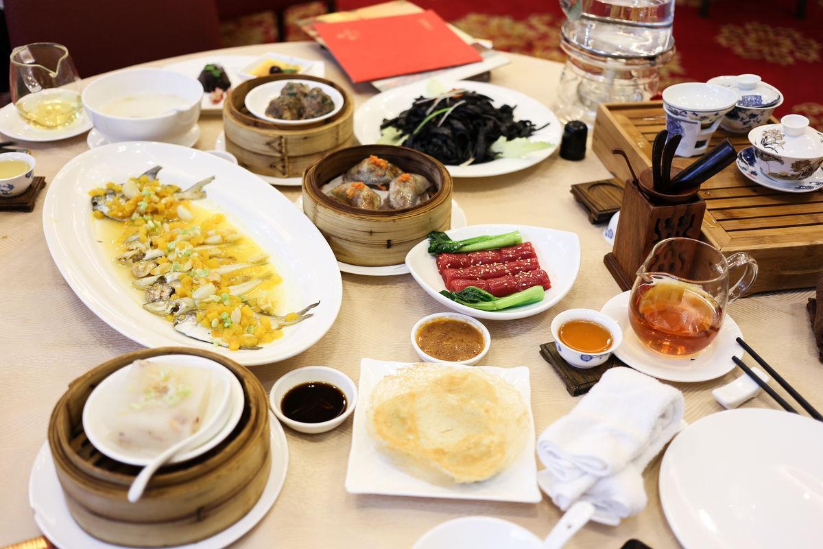 中式茶点图片