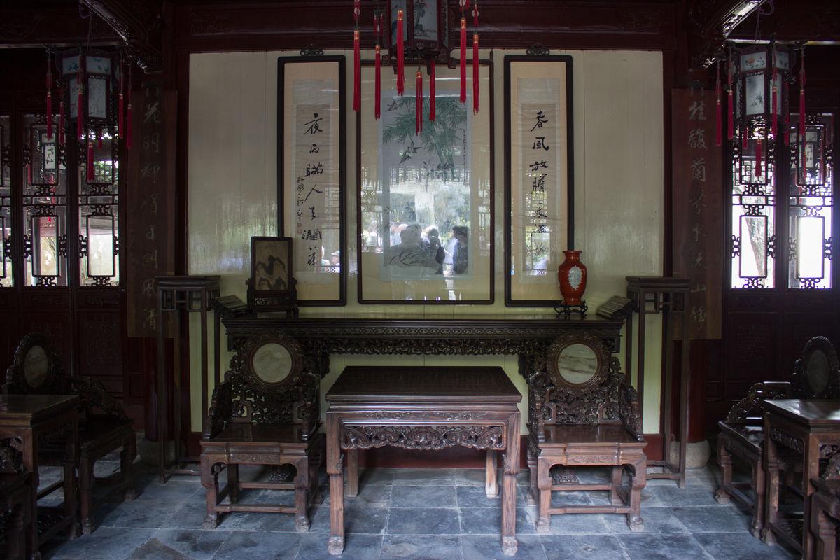 中堂,老屋,八仙桌,古堂屋,老房子,古镇民居,清代民居,巴渝民居,中式图片