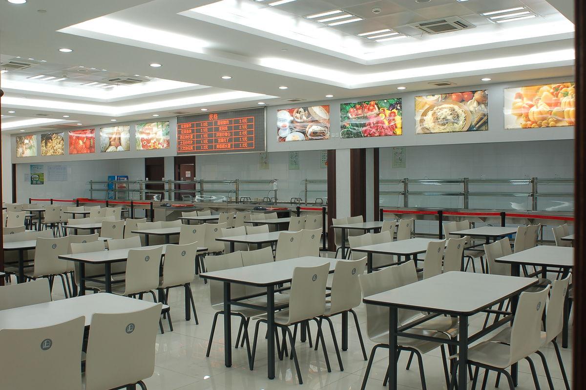 员工餐厅图片