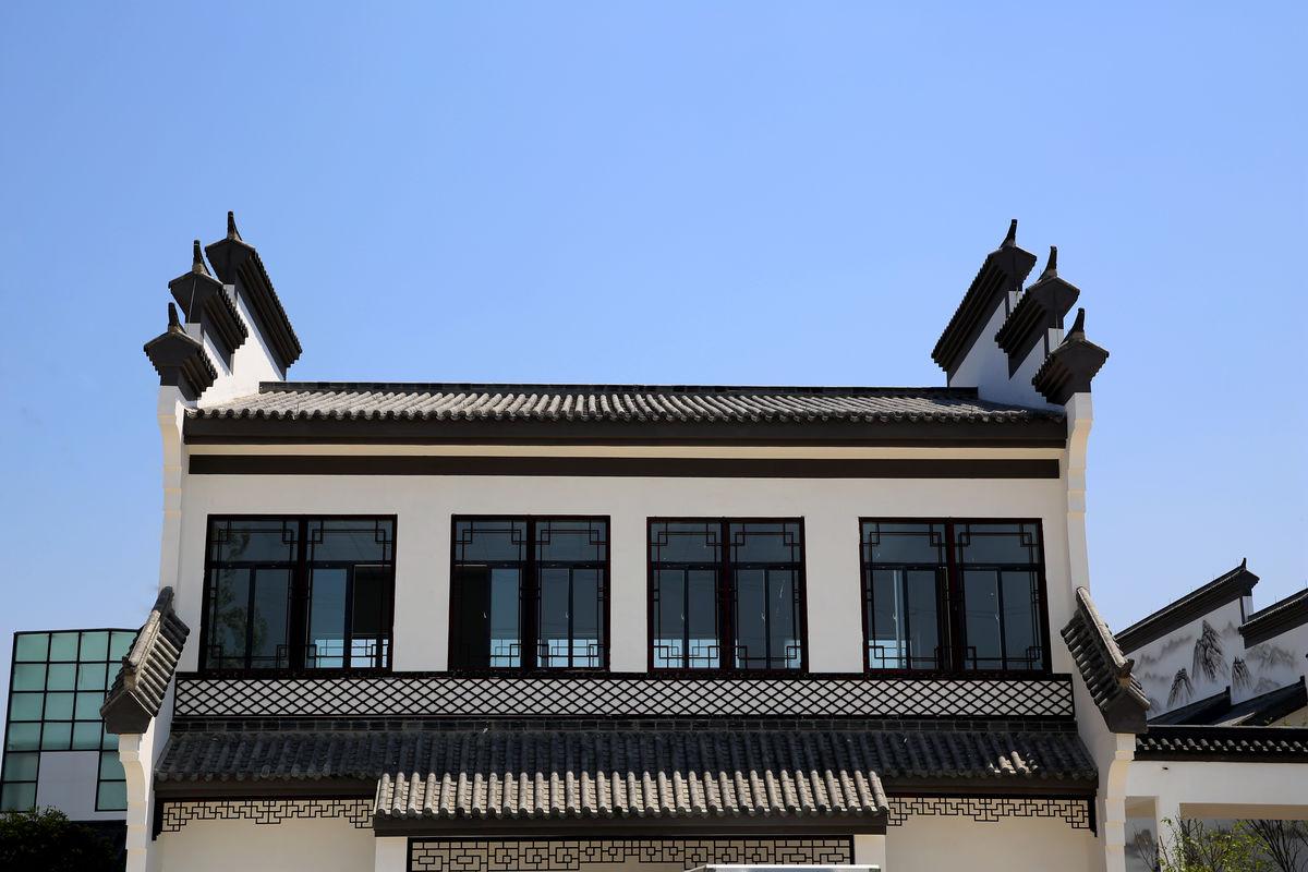 徽派建筑,徽式建筑,马头墙,徽文化,仿古建筑,现代建筑,灰瓦,白墙图片
